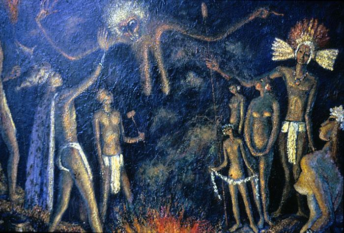 historias del volcán masaya